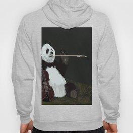 panda violinist Hoody