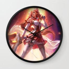 Star Guardian Miss Fortune League Of Legends Wall Clock