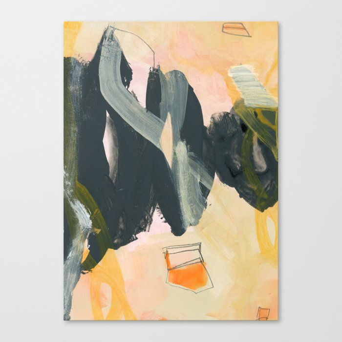 abstract painting IV Canvas Print