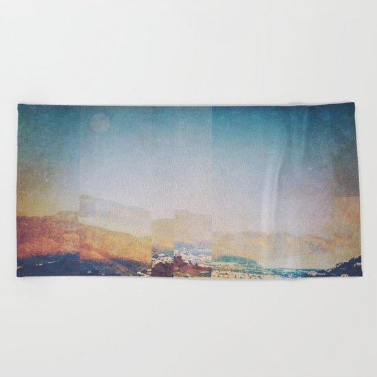 Fractions A19 Beach Towel