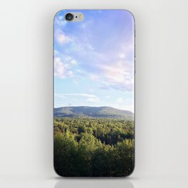Beautiful Clouds in the Adirondacks iPhone Skin