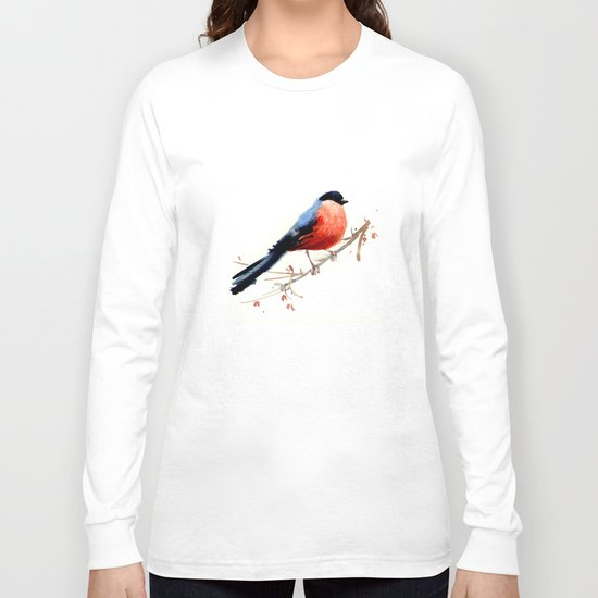 Red belly Long Sleeve T-shirt