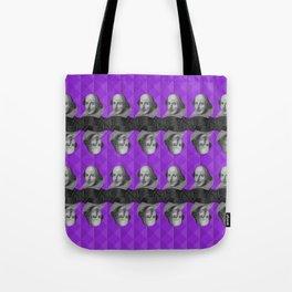 Purple Shakespeare Tote Bag