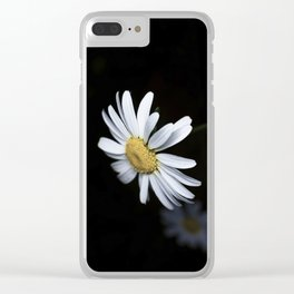Minimalist Daisy Clear iPhone Case