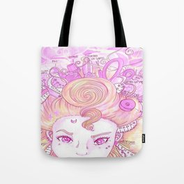 Sew Tools Girl Tote Bag