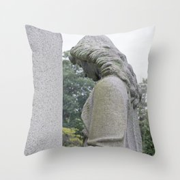 Guardian at Her Post Throw Pillow