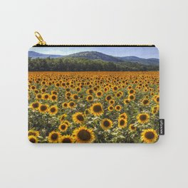 Sunflower Fields Of Dreams Carry-All Pouch