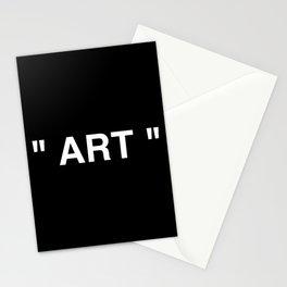 """"""" Art """" (Negative) Stationery Cards"""