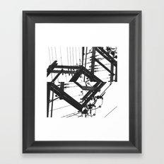 The Power of a Spiral Framed Art Print