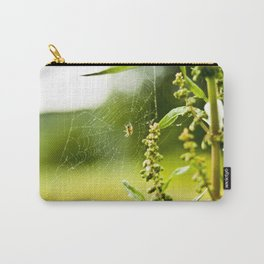 Spider and Web Carry-All Pouch