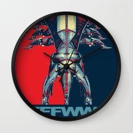 The Call of Reaper -Mass Effect Wall Clock