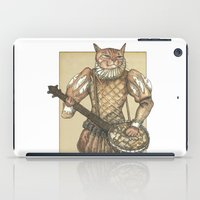 banjo iPad Cases featuring Banjo Cat by Felis Simha
