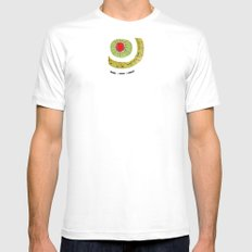 Carnival MEDIUM White Mens Fitted Tee