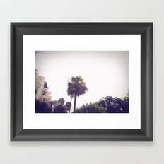 palm::charleston Framed Art Print
