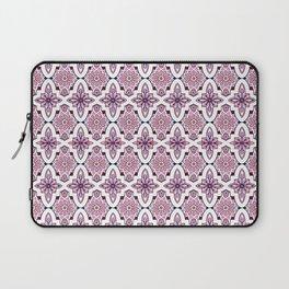 Lilac Moroccan Tiles Laptop Sleeve