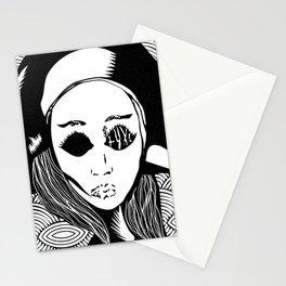 eva natas Stationery Cards