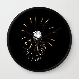 Fireworks 8 Wall Clock