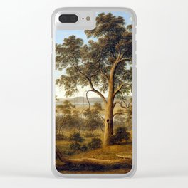 John Glover Launceston and the River Tamar Clear iPhone Case
