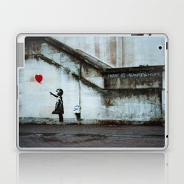 Banksy street art / photograph - girl with red ballon Laptop & iPad Skin