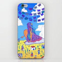 Adelita Y El Pueblo de Calaveras iPhone Skin