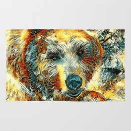 AnimalArt_Bear_20170604_by_JAMColorsSpecial Rug