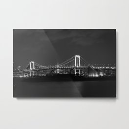 Bridge to Odaiba Metal Print