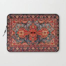 Kashan Poshti Central Persian Rug Print Laptop Sleeve