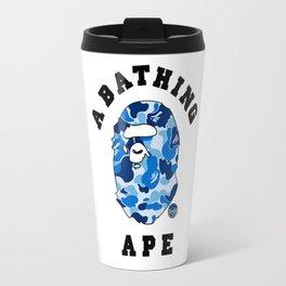Bape A Bathing Blue Travel Mug
