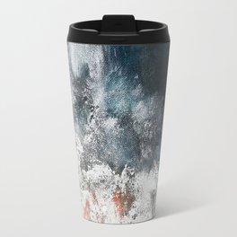 Aerial ocean, coast,  beach, waves, sea, prints, project Travel Mug