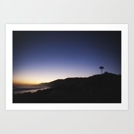 Malibu Blues Art Print