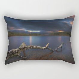 Darkness Approaches Rectangular Pillow