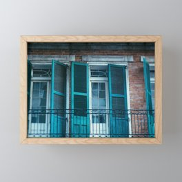 French Quarter Blues, No. 1 Framed Mini Art Print