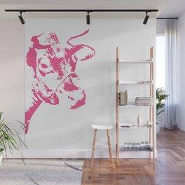 Follow the Herd - Pink #700 Wall Mural