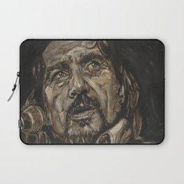 Waylon Jennings Laptop Sleeve