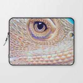 Dragon Star, Bearded Dragon Lizard Art Laptop Sleeve