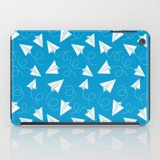 Paper Plane iPad Case