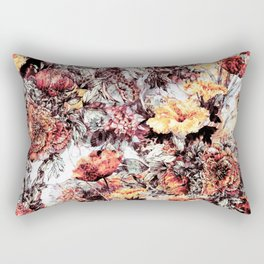 RPE FLORAL ABSTRACT Rectangular Pillow