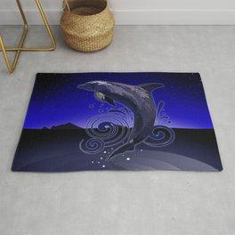 Dolphin - Night Rug