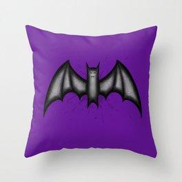 Winged Menace Throw Pillow
