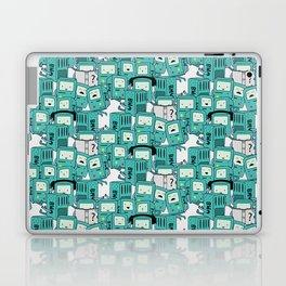 BMO patterns Laptop & iPad Skin