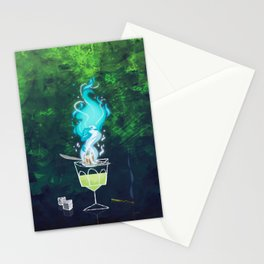 Absinth fire Stationery Cards
