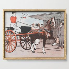 Horses for Courses Serving Tray