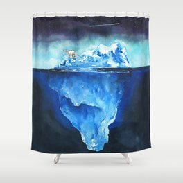 I'm Used To It - Print Shower Curtain