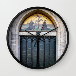Martin Luther's 95 Theses Wall Clock