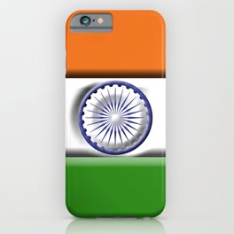 Indian 3D Flag iPhone Case