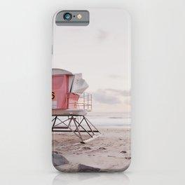 Lifeguard Tower No. 6 iPhone Case