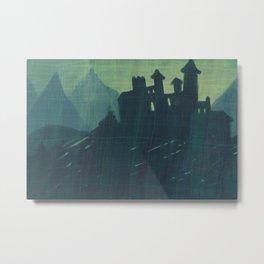 abandoned castle Metal Print