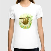 sloth T-shirts featuring Sloth by Kirsten Sevig