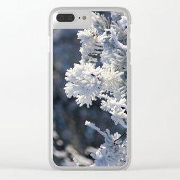 AbitibiWinter39 Clear iPhone Case