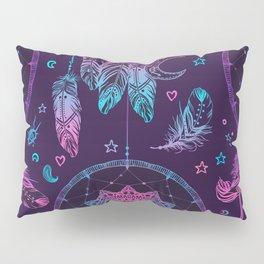 Ultra Violet Dreams, Dream Catcher Enchantment Pillow Sham